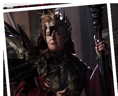 Queen Taramis Sarah Douglas -...